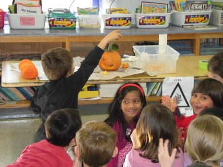 We love Pumpkin Science!