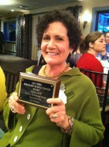 Congratulations to Mrs. Jaffe!