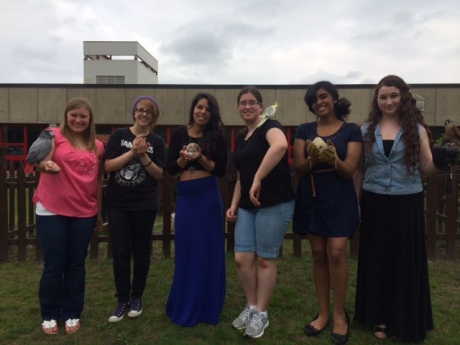 Seniors-Becky, Jill, Jackie, Laura, Sharleen, Sam